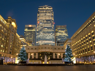 Kerstreis Londen
